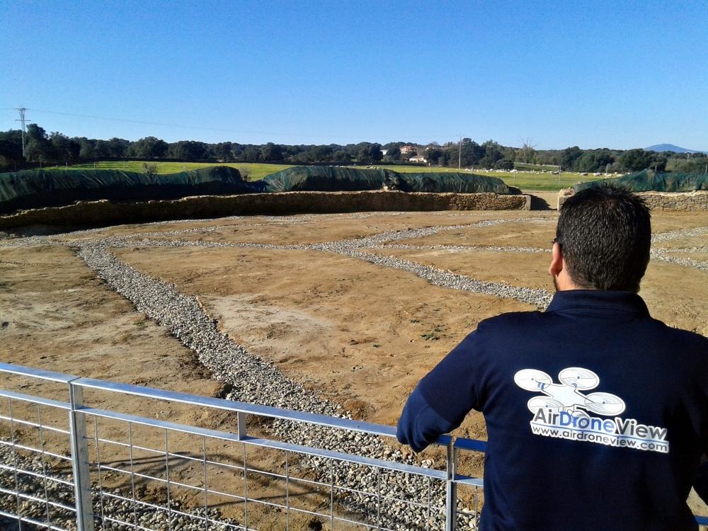 caparra air drone view teatro anfiteatro romano yacimiento extremadura ortofoto arqueologia drones españa badajoz caceres empresa 3d levantamiento (9)
