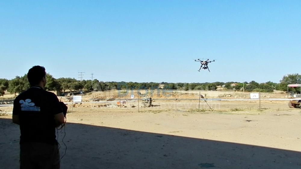 caparra air drone view www.airdroneview.com 3d reconstruccion drones arqueologia comparativa aerea extremadura españa yacimiento romano ciudda anfiteatro 2