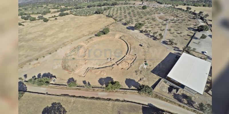 Finalizamos trabajos arqueológicos en el anfiteatro deCáparra