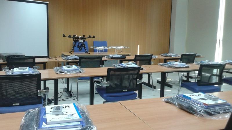 3, 2, 1 para el arranque del curso oficial de pilotos de RPAS en Don Benito,Badajoz