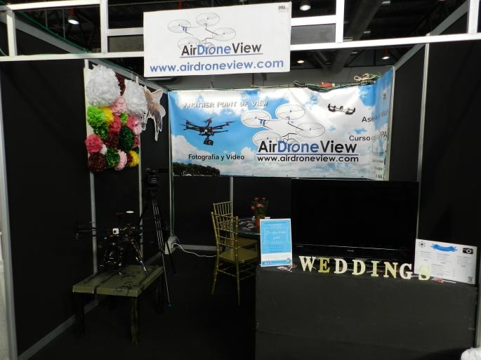expobodas 2015 badajoz extremadura españa portugal www.airdroneview.com air drone view stand foto video aereo reportaje boda weddings aerial empresa (2)