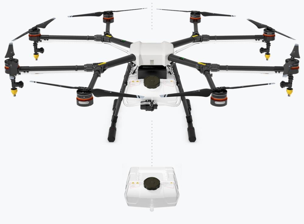 dji agras mg 1 dron agricola fumigador fumigacion rpas uav air drone view españa (1)