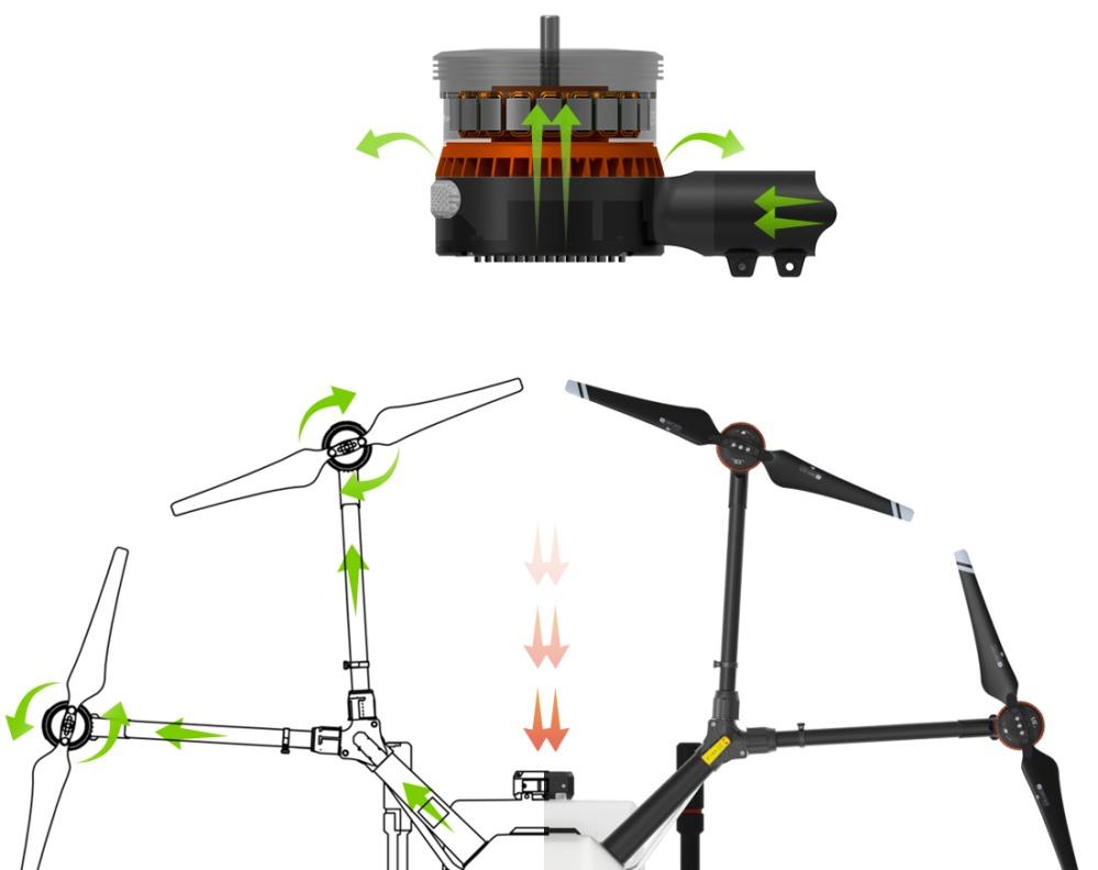 dji agras mg 1 dron agricola fumigador fumigacion rpas uav air drone view españa (5)