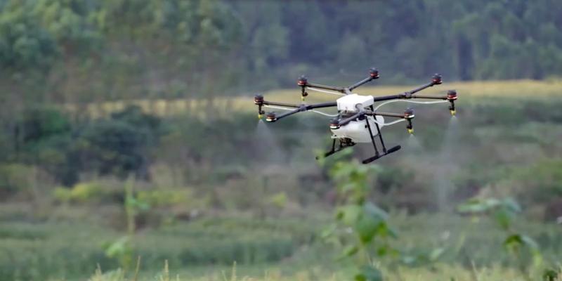 DJI MG-1. El dronfumigador