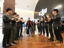 DJI STORE TIENDA SHENZEN CHINA DRON DRONES RPAS AIR DRONE VIEW OPENING CHINA (3)