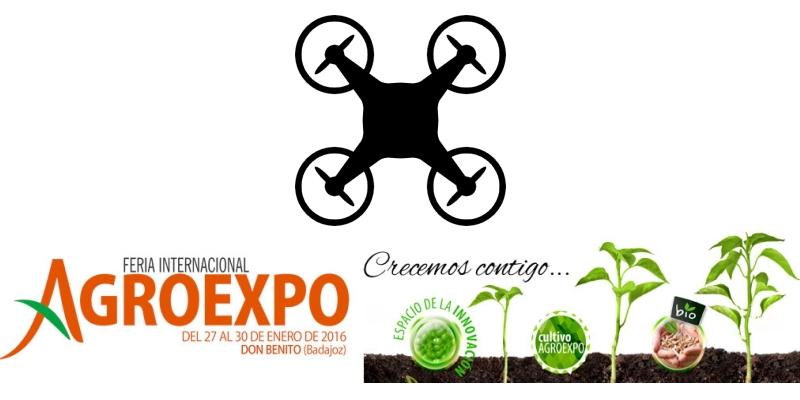 """""""Espacio Dron"""" en Agroexpo2016"""