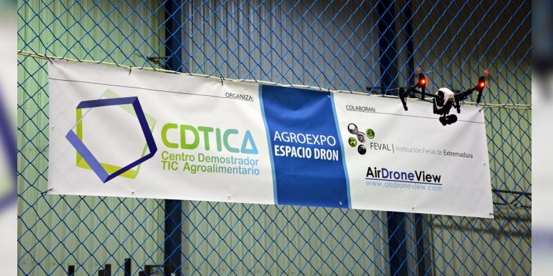 Arranca Espacio Dron en Agroexpo2016