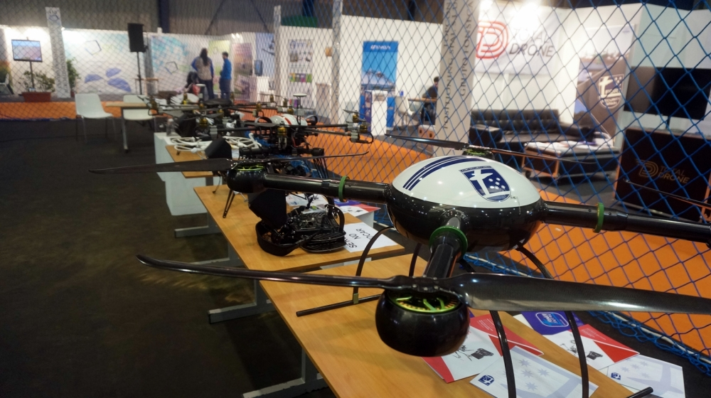 exposicion drones agroexpo 2016 don benito feval feria rpas uav exhibiciones air drone view www.airdroneview.com empresas expositor evento indoor (1)a