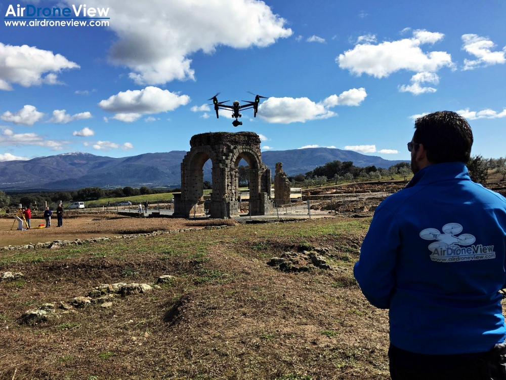 air drone view www.airdroneview.com arqueologia dron españa extremadura caparra ciudad romana ortofoto 3d fotogrametria aerea empresa contacto contratar badajoz (2)a