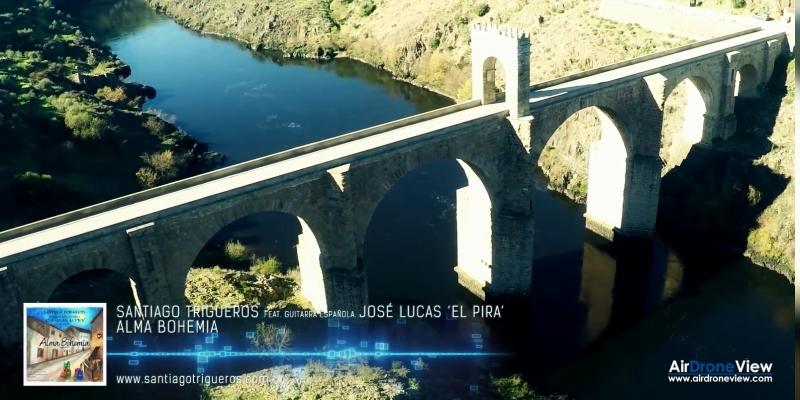 Vídeo musical con drones. Santiago Trigueros – AlmaBohemia