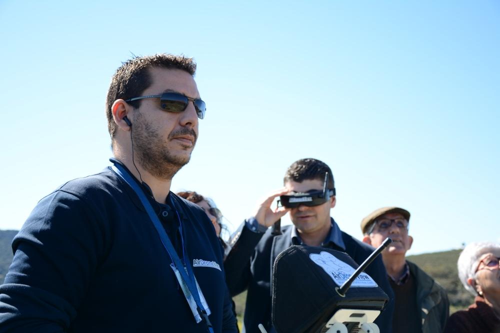 air drone view fio 2016 monfragüe empresa actividades a vista de pajaro aprende a volar un dron rpas españa parque nacional feval junta de extremadura stand videos (10)