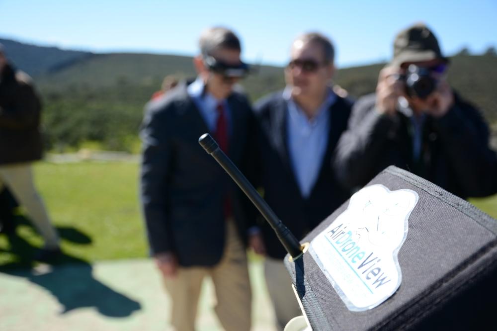air drone view fio 2016 monfragüe empresa actividades a vista de pajaro aprende a volar un dron rpas españa parque nacional feval junta de extremadura stand videos (26)