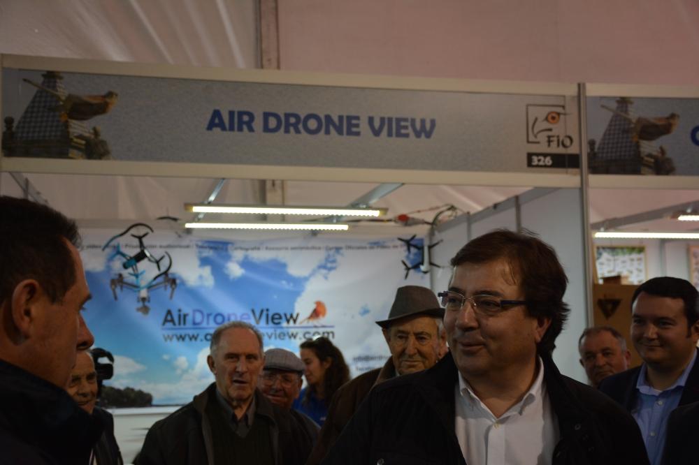 air drone view fio 2016 monfragüe empresa actividades a vista de pajaro aprende a volar un dron rpas españa parque nacional feval junta de extremadura stand videos (6)