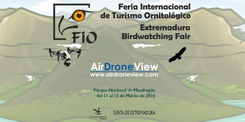 Los Drones Invaden Monfragüe durante la FIO2016