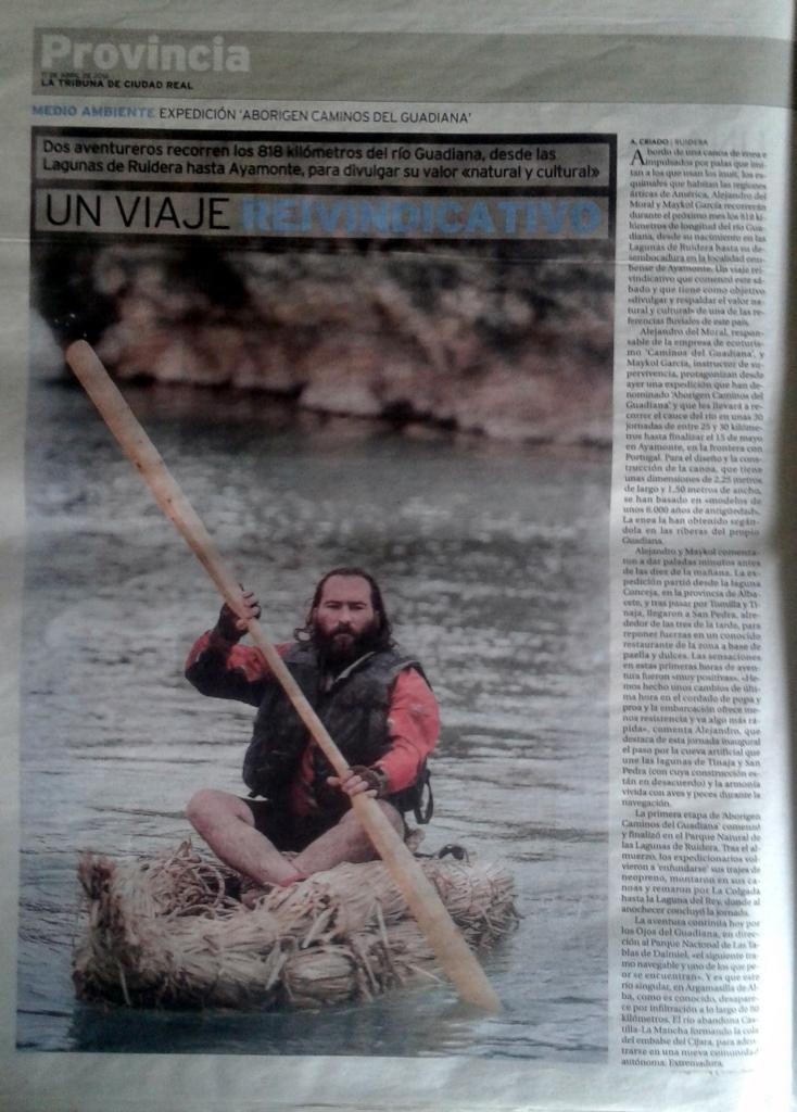 air drone view www.airdroneview.com tribuna ciudad real noticia expedicion aborigen caminos del guadiana barcas enea alejandro maykol (2)