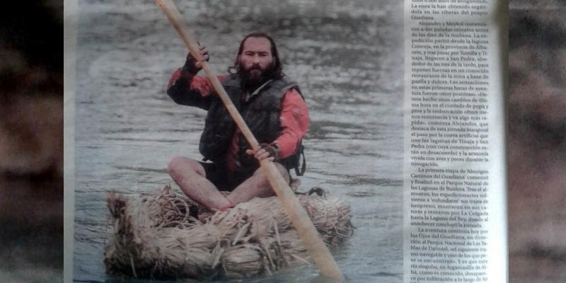 Increíble la fuerza que está tomando la Expedición Aborigen Caminos delGuadiana