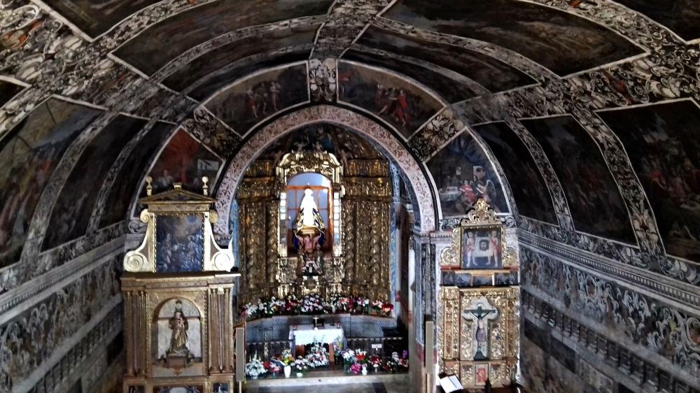 ermita nuestra señora del ara documental filmacion air drone view www.airdroneview.com fuente del arco extremadura badajoz television pinturas genesis biblia monumento (2)