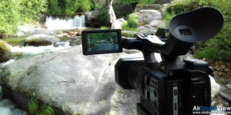 Intensa jornada de filmación en La Vera(Cáceres)