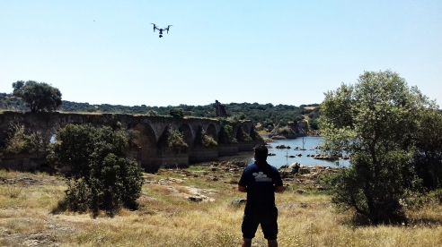 puente ajuda air drone view www.airdroneview.com drones documental extremadura portugal canal extremadura video profesional turismo promocion (1)