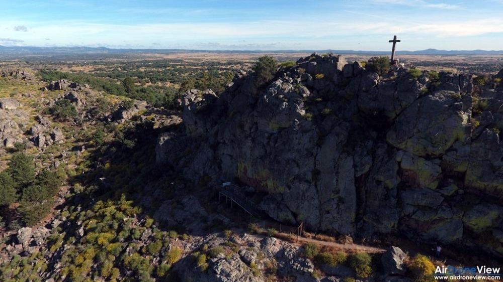 air drone view alburquerque castillo de luna castillo de azagala peña del aguila documental extremadura turismo aventura ocio drones badajoz caceres promocional  (2)