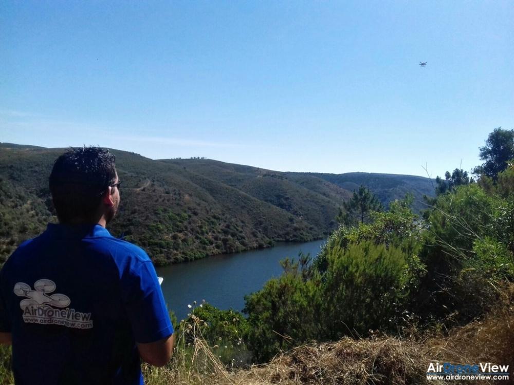 air drone view www.airdroneview.com tajo internacional españa portugal parque rio drones documental canal extremadura tv empresa operador extremadura a