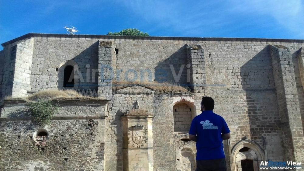 convento san antonio padua lista roja patrimonio peligro garrovillas de alconetar air drone view www.airdroneview.com documental extremadura españa operador drones 1