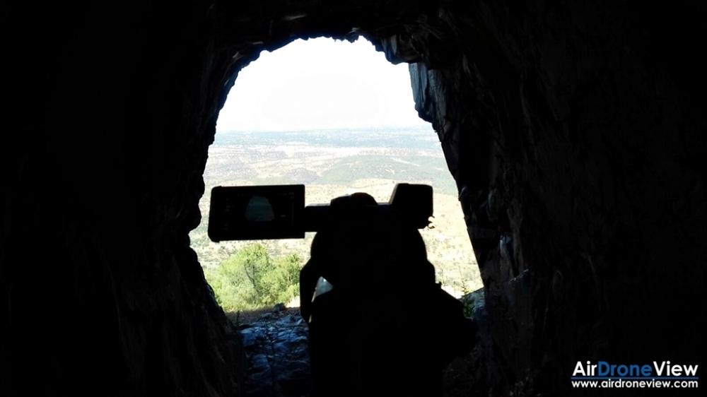 sierra santiago alcantara tajo internacional valencia drones documental productora audiovisual extremadura badajoz caceres canal extremadura tv cueva prehistoria rupestre buraco 1