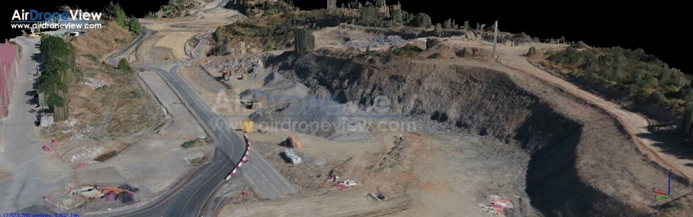 seguimiento comparativo obra civil extremadura españa badajoz caceres constructora drones operador air drone view www.airdroneview.com ortofoto 3d mapeo (3)