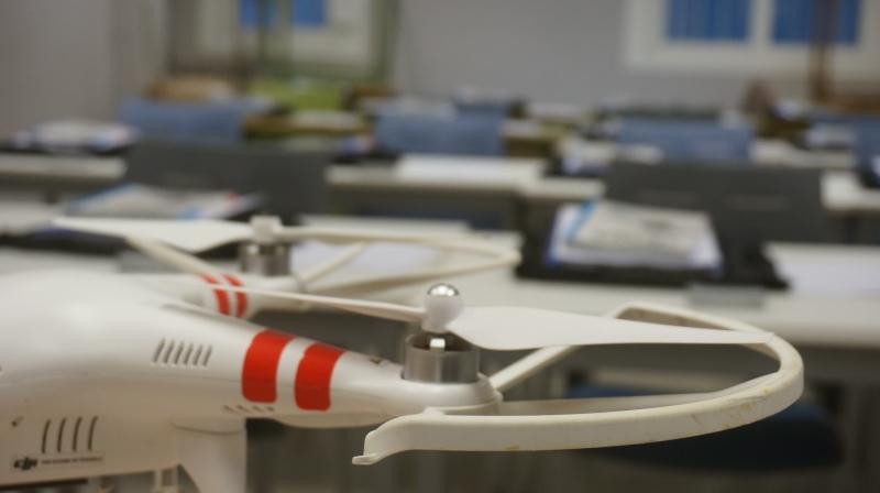 El lunes empezó el Curso Oficial de Piloto de Drones enZafra