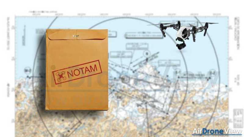 Solicitud de NOTAM para operadores y no operadores de drones. Gratis ysencillo