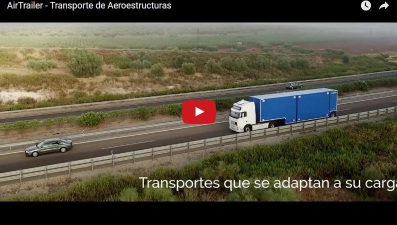 Vídeo Promo de AirTrailer: transporte de piezas deaviones