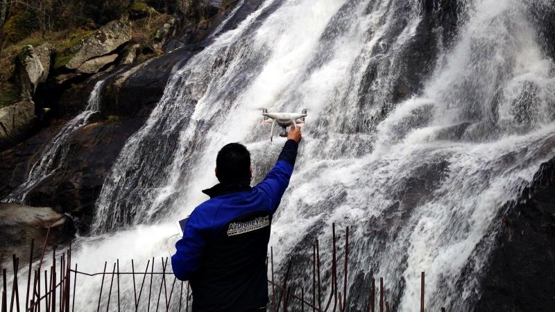 Filmación de Spot para casa rural en el Valle delJerte