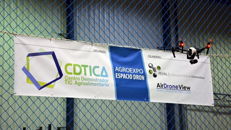 Air Drone View estará en Espacio CDTICA Dron en Agroexpo2017
