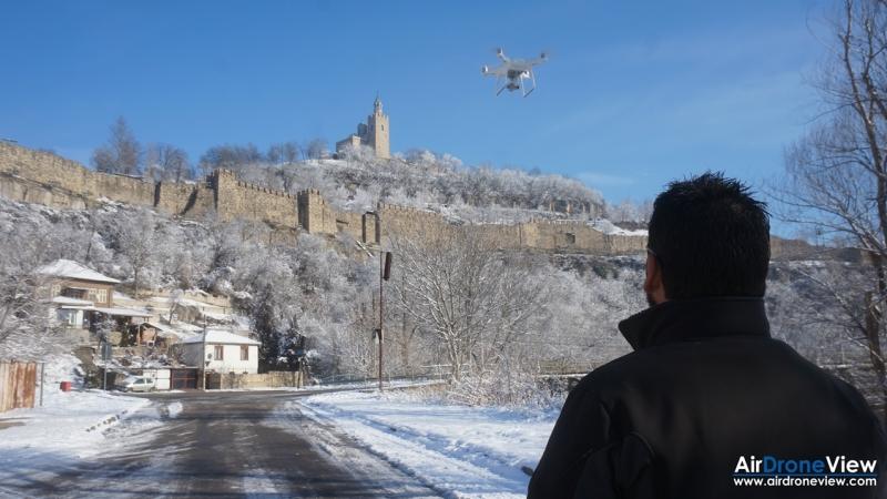 Volando con drones a -7ºC –Consejos