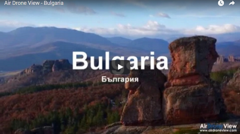 El espectacular vídeo aéreo deBulgaria