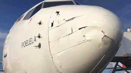 Accidente: Drone colisiona contra avión de pasajeros enMozambique