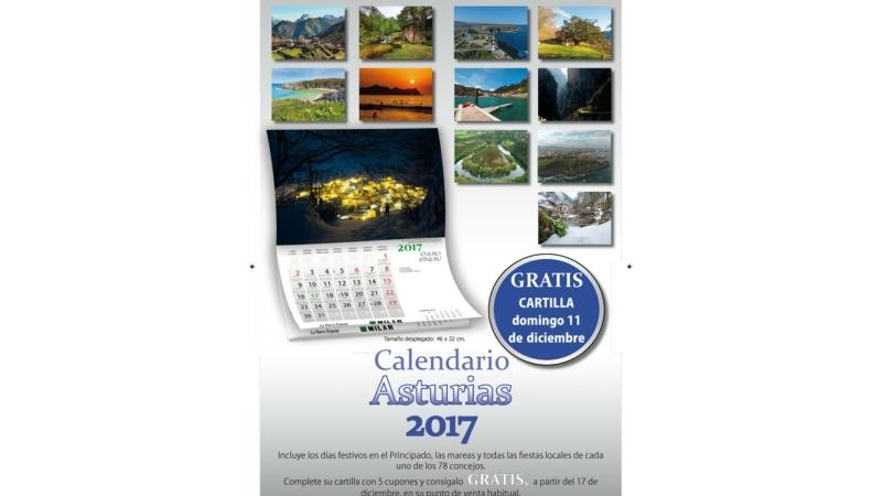 Calendario 2017 para periódico de Asturias – Air DroneView