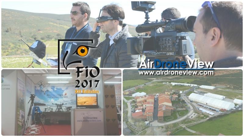 Air Drone View estará en la FIO2017