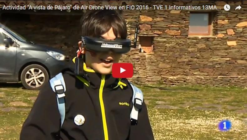 TVE: Drones en la FIO2017