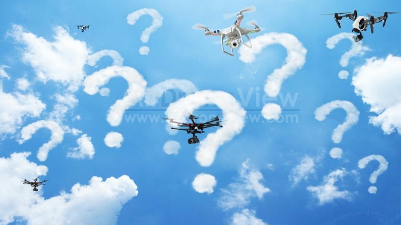 Información confusa sobre los drones enEspaña
