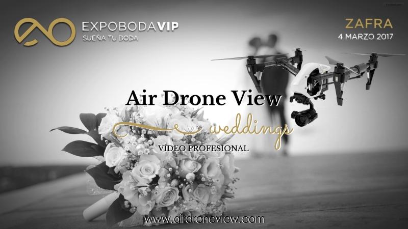 Air Drone View estará en Expoboda VIP en Zafra el próximosábado