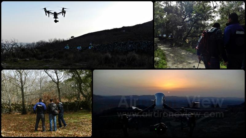 De rodaje en Montánchez para un vídeo muyespecial