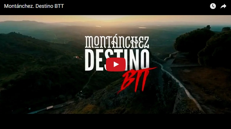 Spot publicitario: Montánchez. DestinoBTT