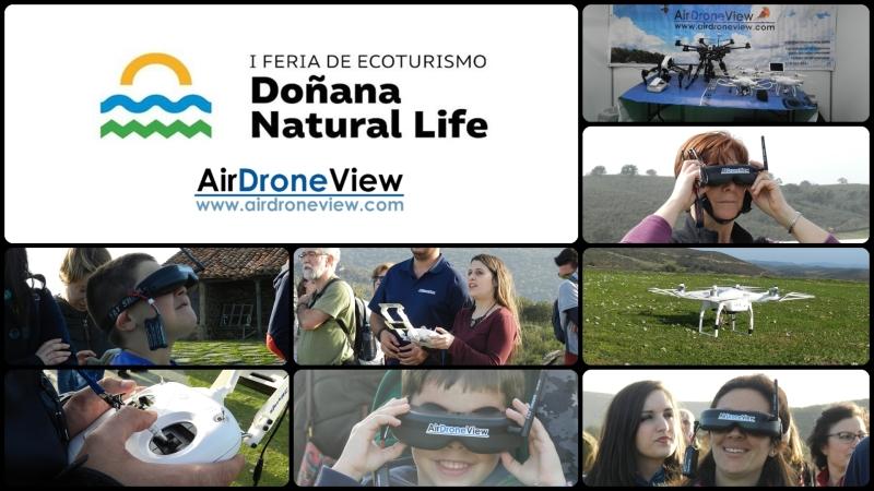 Air Drone View estará en la I Feria de Ecoturismo deDoñana