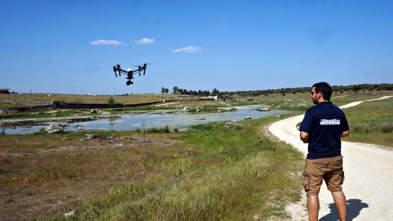 Los drones revolucionan las audiovisuales enExtremadura