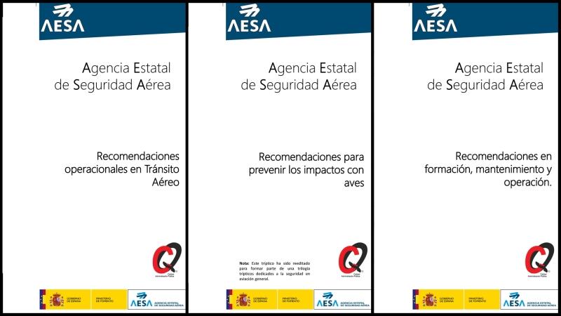 AESA emite recomendaciones para evitar incidentes en la aviación general, incluidos losdrones