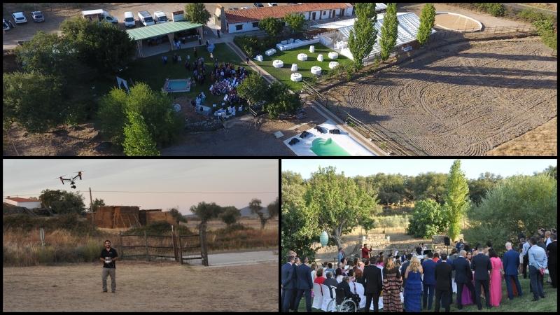 Filmando en la Finca Escobar & Jerez – San Vicente deAlcántara