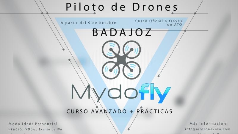 Curso Oficial de Piloto de RPAS (#Drones) en #Badajoz – Octubre2017