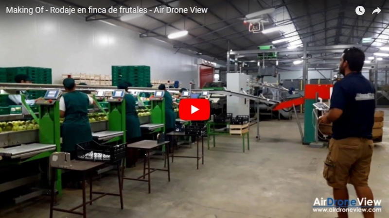 Making Of – Rodaje en finca de frutales – Air DroneView