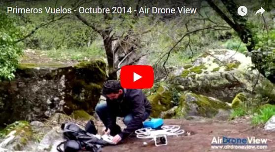 Vídeo de nuestros primeros vuelos como operador. Octubre de 2014 –INÉDITO